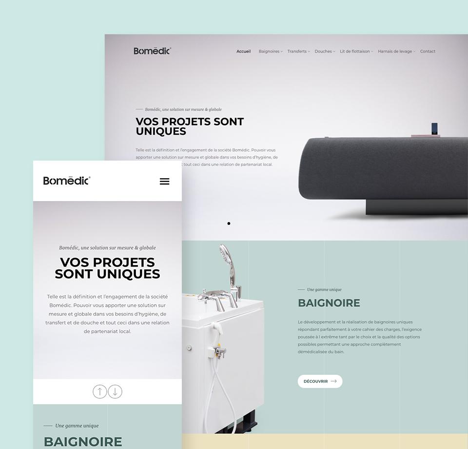 Site internet Bomédic
