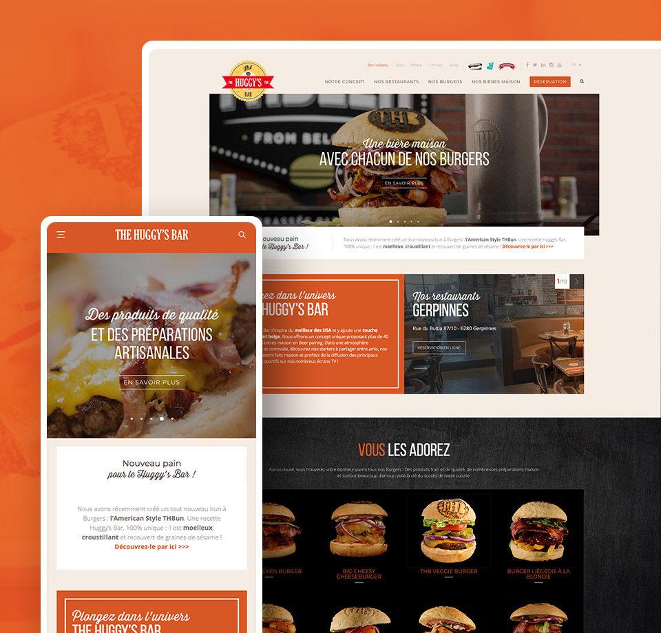 Projet - site internet du huggy's bar